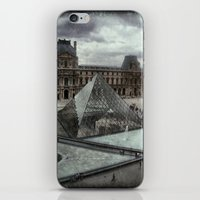 Pyramid Of The Louvre iPhone & iPod Skin