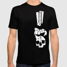 But did you die? SMALL Black Mens Fitted Tee