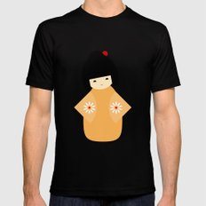 #27 Japanese Doll Mens Fitted Tee Black SMALL