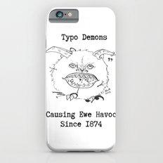 Typo Demons Slim Case iPhone 6s