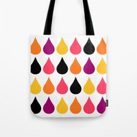 Pattern, Sweet Drops Tote Bag