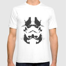 Stormtrooper Rorschach SMALL White Mens Fitted Tee