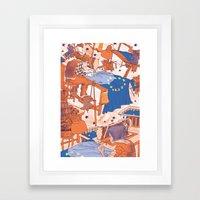 European Journal #1 Framed Art Print