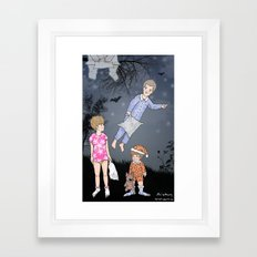 Insomniacs - Once upon a time out Framed Art Print