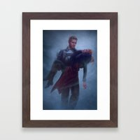 Cullen and Inquisitor - Rescue Framed Art Print
