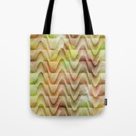 Tote Bag featuring Textured Contours 2 by Janice Austin Design…