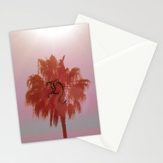 palm tree  Stationery Cards