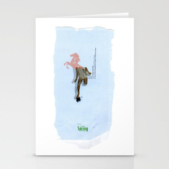 SPRING// Stationery Card