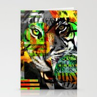 Tiger. Stationery Cards