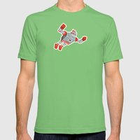 Jaianto Punch-Robo Mens Fitted Tee Grass SMALL