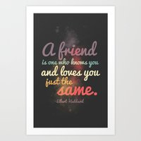Friendship | Elbert Hubb… Art Print