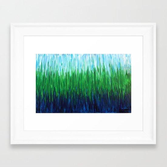:: Sea Grass :: Framed Art Print
