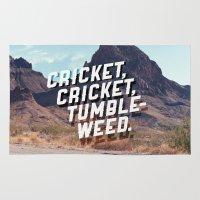 Cricket, Cricket, Tumble… Rug