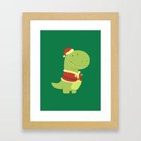 SanT-Rex Framed Art Print