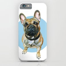 French Bulldog blue spot. Slim Case iPhone 6s