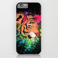 iPhone & iPod Case featuring SPLASH OF TIGER. by ChelseeTaylor