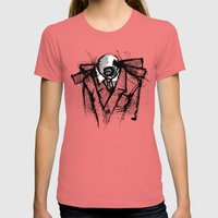 Wraith I. Womens Fitted Tee Pomegranate SMALL