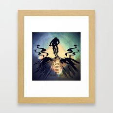 JTS Or Die Trying Framed Art Print