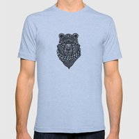 Bear Mens Fitted Tee Athletic Blue SMALL