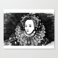 Queen Elizabeth I Portra… Canvas Print