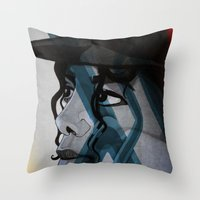Looking Out Across The N… Throw Pillow