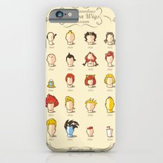 The Marvelous Cartoon Wigs Museum iPhone 6 Slim Case