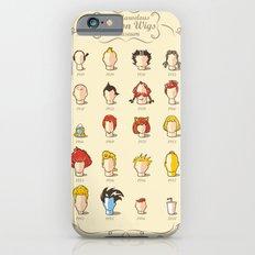 The Marvelous Cartoon Wigs Museum iPhone 6s Slim Case