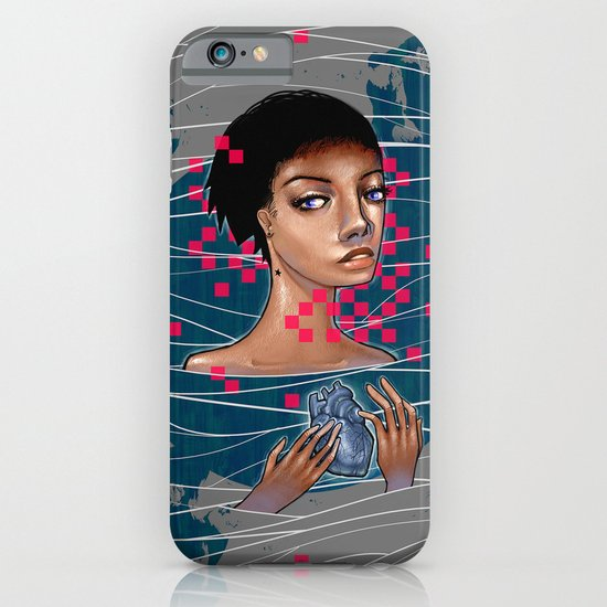 cold as heart iPhone & iPod Case