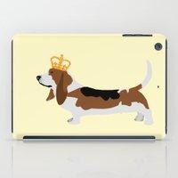 Royal Basset Hound Dog  iPad Case