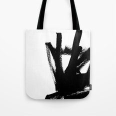 Abstract black & white 1 Tote Bag
