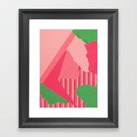 Peeenk Framed Art Print