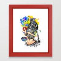 Colorphobia Framed Art Print