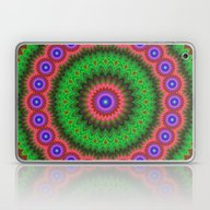 Mandala Flower Bouquet Laptop & iPad Skin