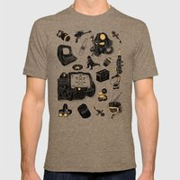 Artifacts: Fallout Mens Fitted Tee Tri-Coffee SMALL