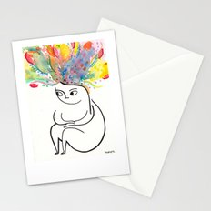 inside and out Stationery Cards