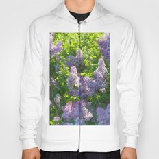 Summer lilac nature pattern Hoody