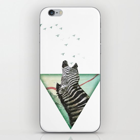 roaring silence iPhone & iPod Skin