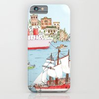 iPhone & iPod Case featuring The Harbor by Nate Twombly