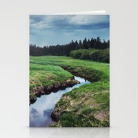 Threatening Stream Stationery Cards