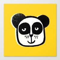 HAPPY PANDA Canvas Print