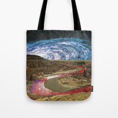 Space River Tote Bag