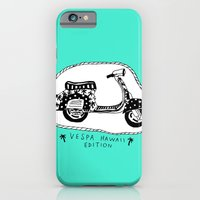 iPhone & iPod Case featuring Vespa Hawaii Edition. by Mr. JJ