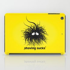 SHAVING SUCKS iPad Case