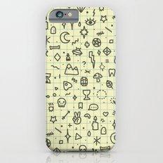 Doodles Pattern iPhone 6 Slim Case