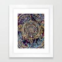 Gayatri - Creation Om Time Framed Art Print