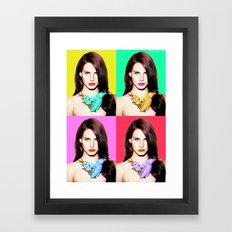 LANA POP  Framed Art Print
