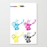 Unnatural Colors Canvas Print