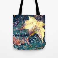 Fall in the Spider's Web Tote Bag