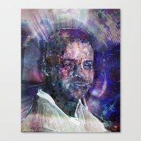 Canvas Print featuring Geraldo by Ruben Marcus Luz Paschoarelli