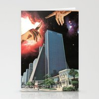The Coming Of The Celestials Stationery Cards